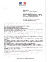 Arreté N°2016-146-CAB-POLE SECURITE
