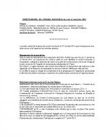 Compte-rendu de la séance du conseil municipal du 17 novembre 2014