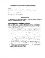 Compte-rendu de la séance du conseil municipal du 2 mars 2015