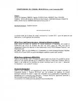 Compte-rendu de la séance du conseil municipal du 2 novembre 2015