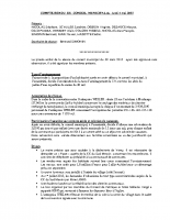 Compte-rendu de la séance du conseil municipal du 4 mai 2015