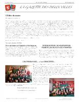 La gazette N°4 – édition décembre 2015